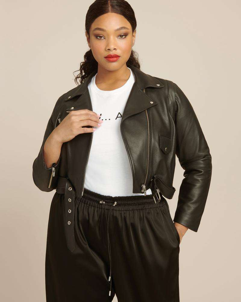 Veda Leather Jacket - $998