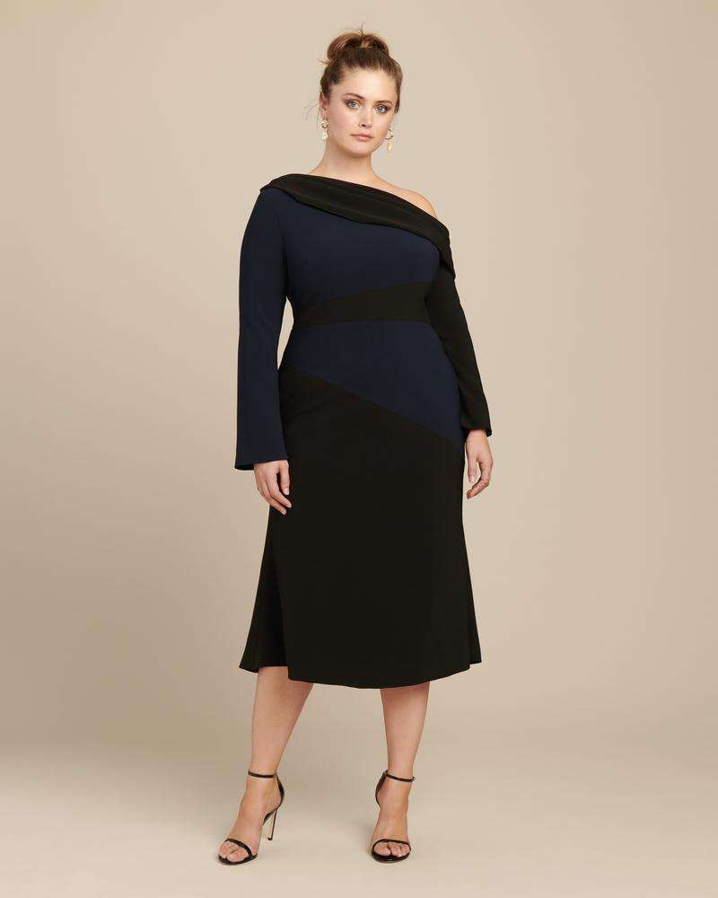 Christian Siriano's high end plus size women's clothing