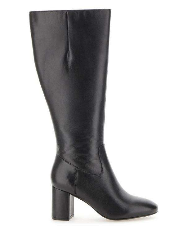 Extra Wide Calf  Leather Boot