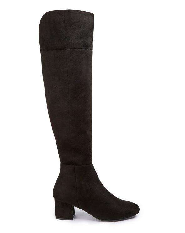 Simply Be Over the Knee Extra Extra Wide Calf Boot
