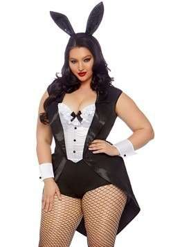 Playboy Bunny Plus Size Halloween Costume
