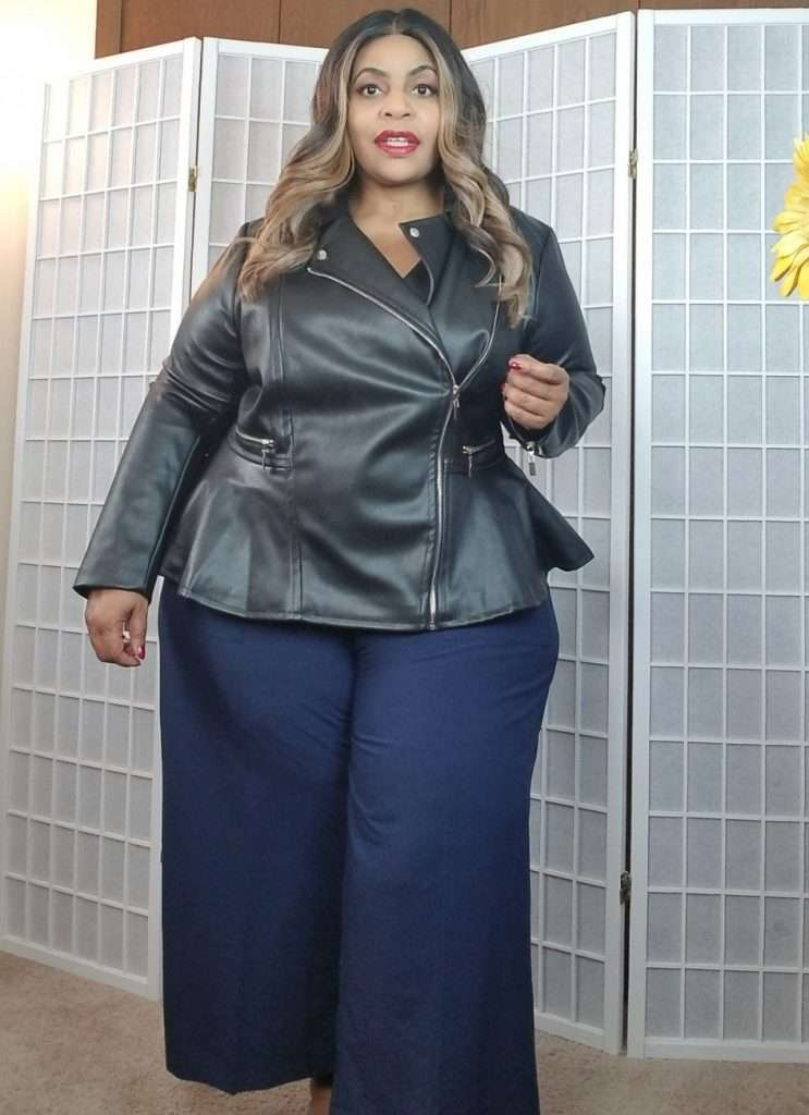 The plus size moto jacket