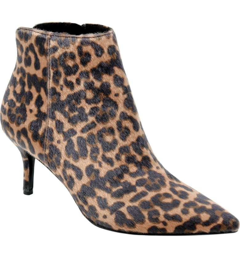 Charles David Accurate Leopard Bootie