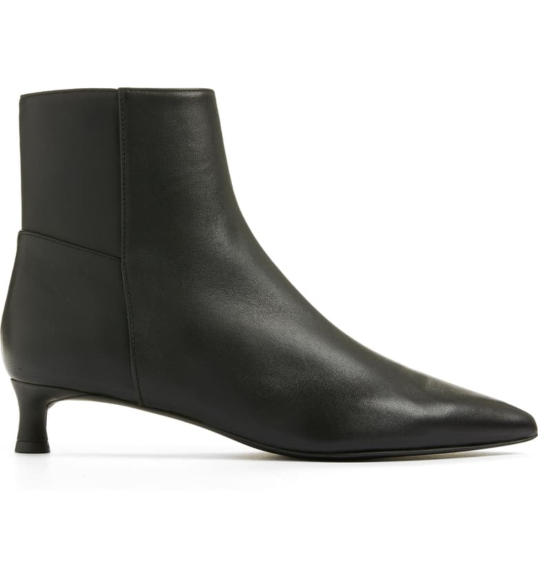 Everlane The Editor Kitten Heel Boot