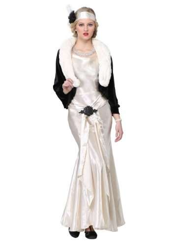 Socialite Roaring 20s Plus Size Halloween Costume