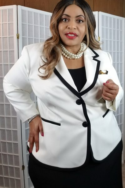Kasper Plus Size Suit Jacket