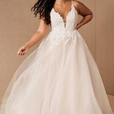 BHLDN Offers New Line of Plus Size Wedding Dresses