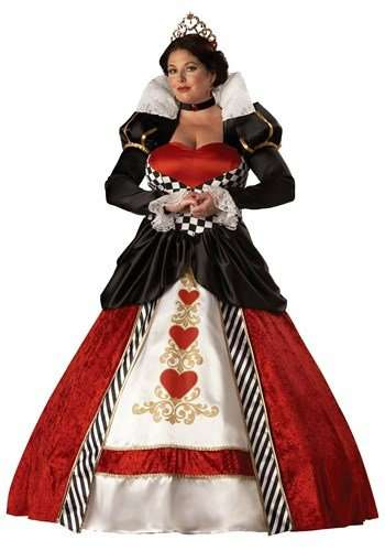 Queen of Hearts Plus Size Halloween Costume