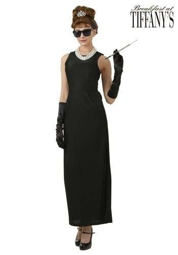Exclusvie Breakfast at Tiffany's Holly Plus Size Halloween Costume.