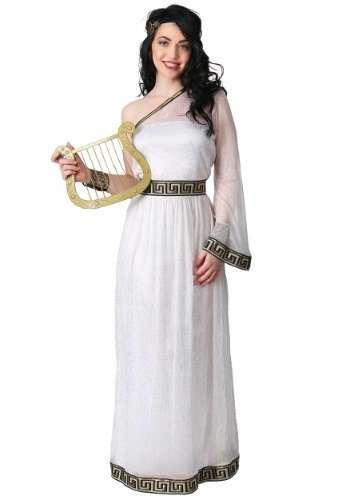 Grecian Goddess Plus Size Halloween Costume