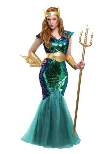 Sea Siren Plus Size Halloween Costume