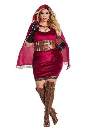 Little Red Riding Hood Plus Size Halloween Costume