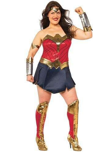 Wonder Woman Plus Size Halloween Costume