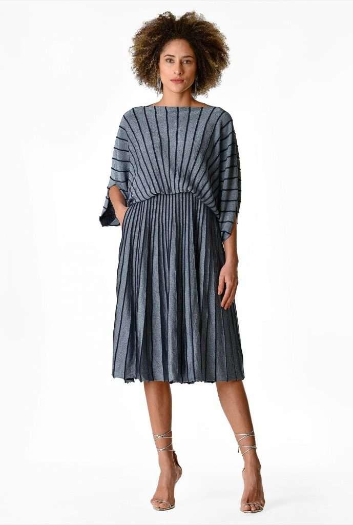 eShakti Custom plus size sweater dress