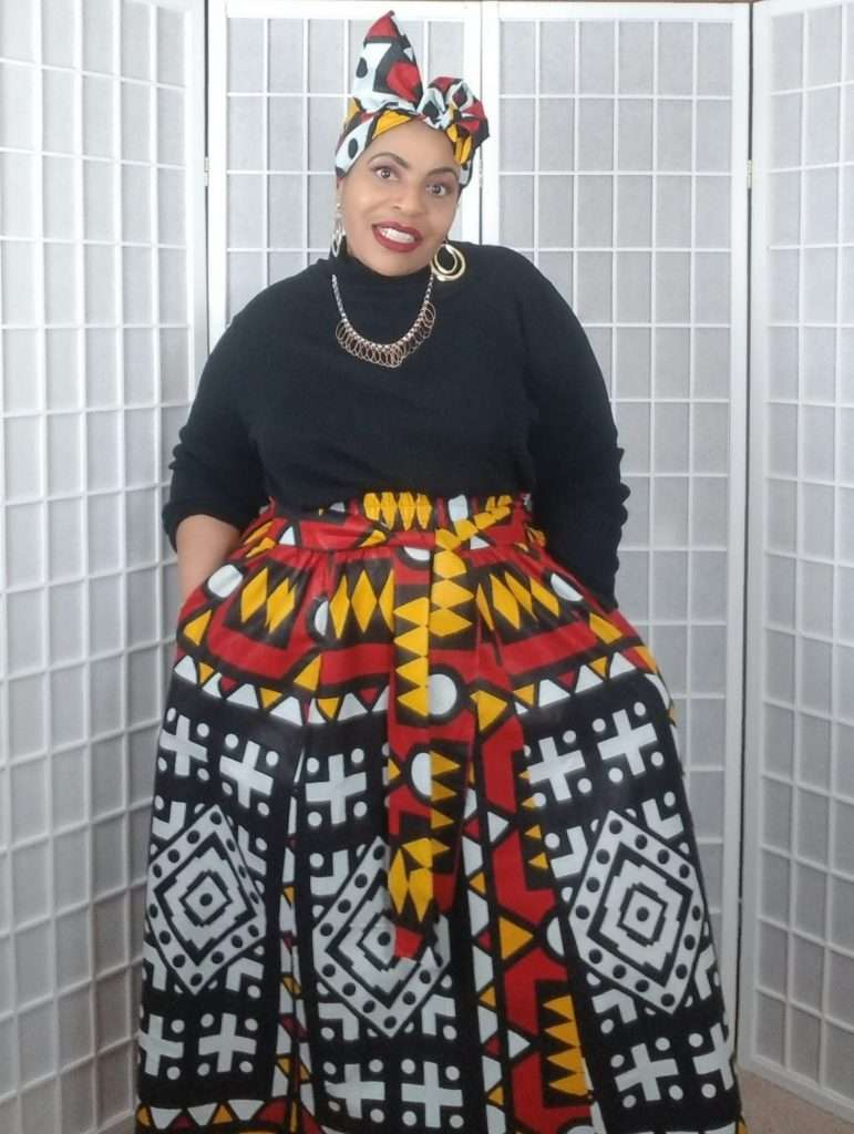 Alkebulan Lifestyle African Skirt