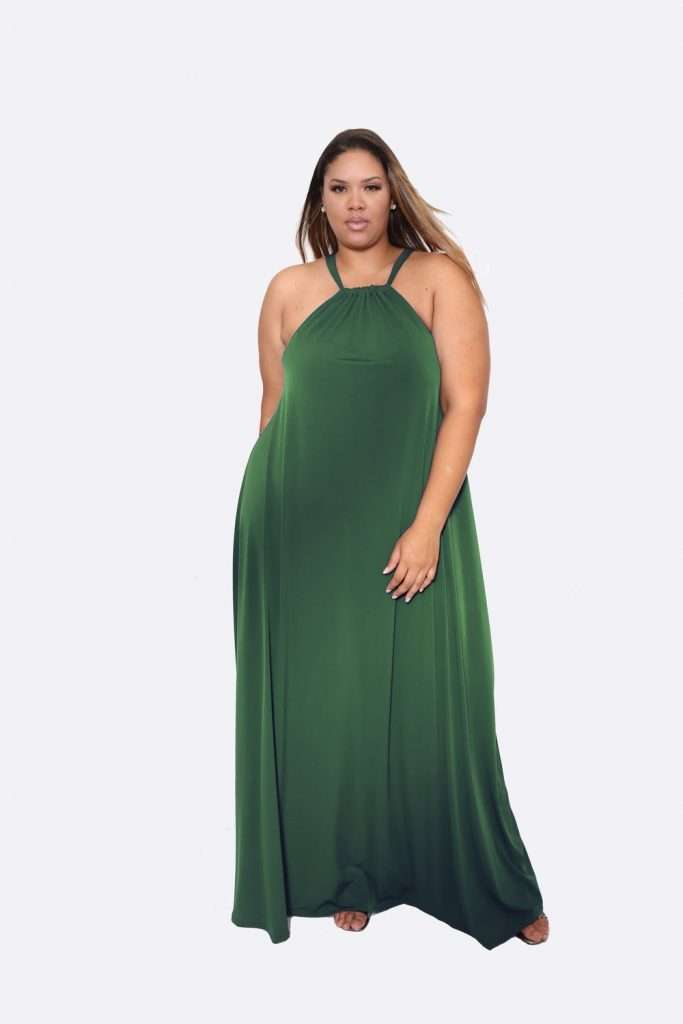 Christian Omeshun plus size dresses