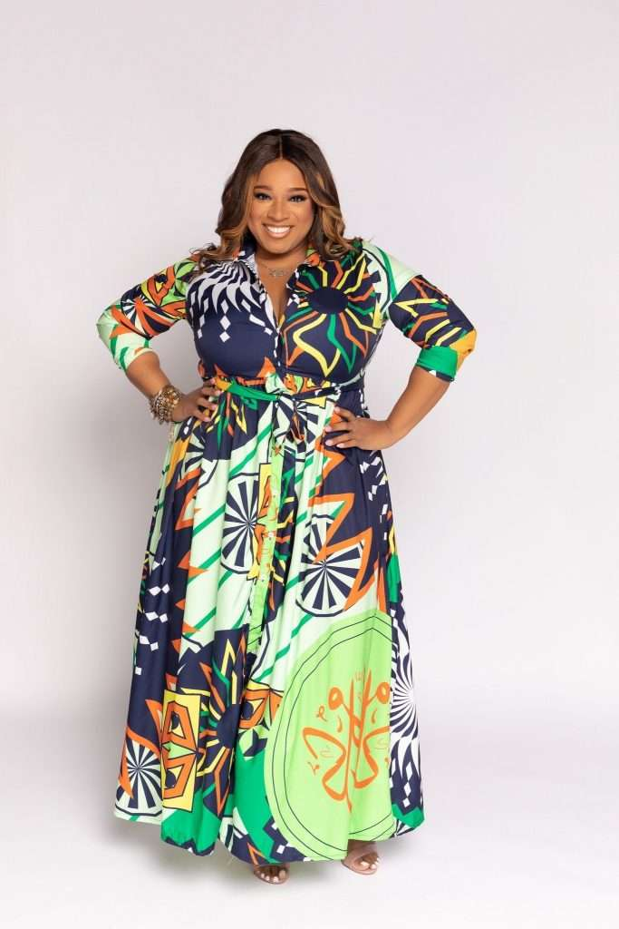 Eleven60 plus size maxi dress