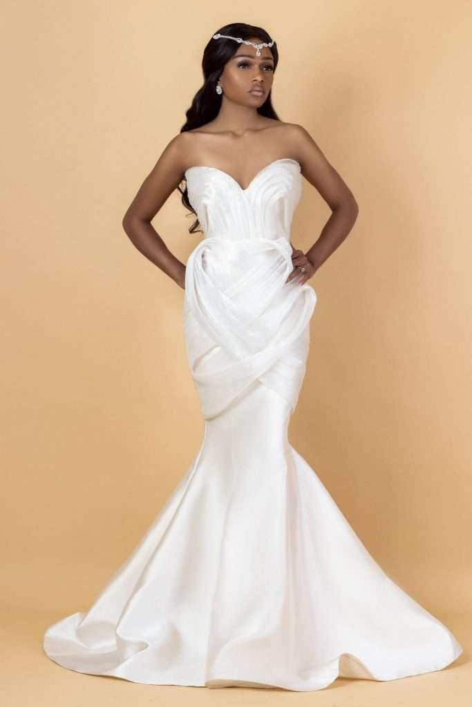 D. Auxilly plus size luxury bridal gowns and wedding dresses