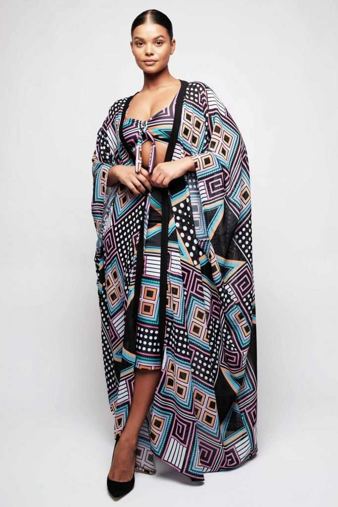 Rue 107 Plus Size Duster