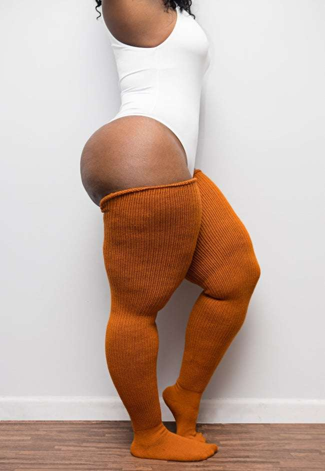 Thunda Thighs plus size thigh high socks